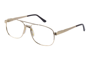 Eyecraft Malcolm men's gold glass frames