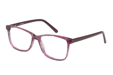 Eyecraft Mallory womens burgundy glass frames
