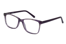 Eyecraft Mallory womens mauve glass frames