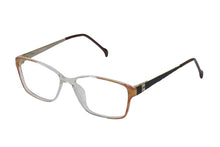 Eyecraft Meadow womens brown glass frames