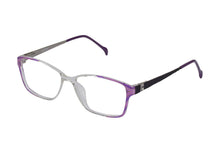 Eyecraft Meadow womens mauve glass frames