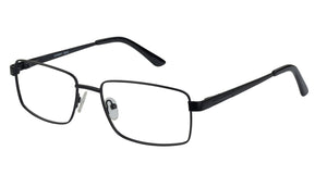 Eyecraft Mohawk men's black glass frames