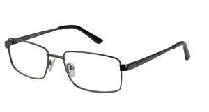 Eyecraft Mohawk men's gunmetal glass frames