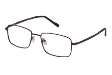 Titanium Razor men's brown glass frames