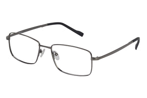 Titanium Razor men's gunmetal glass frames