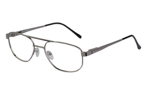 Eyecraft Rusty men's brown glass frames