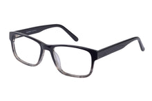 Eyecraft Trenton men's grey glass frames