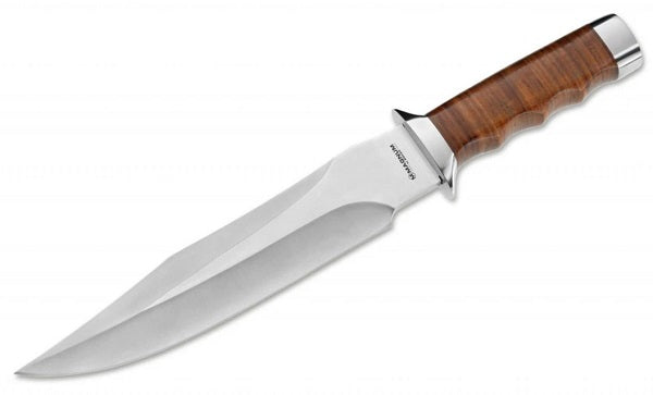 leather handle knife