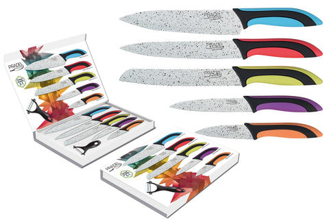 6 pce Kitchen Knife set