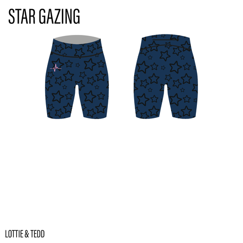 Star Gazing ACTIVEWEAR Shorts