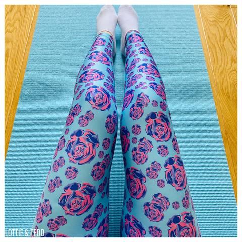 Rose Up! ACTIVEWEAR leggings