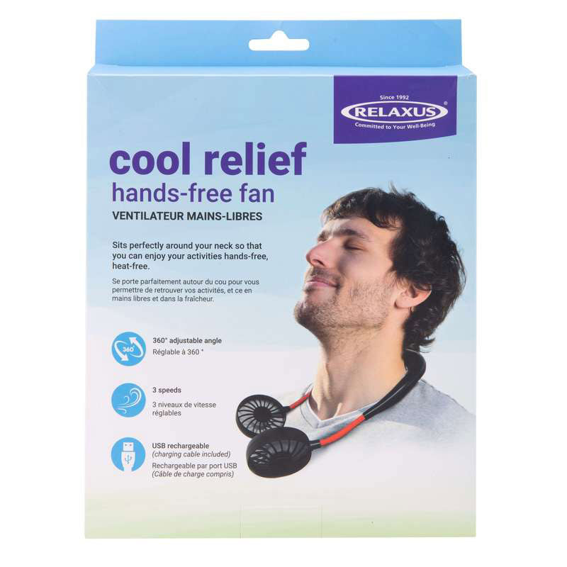 Ventilateur mains-libres Cool Relief