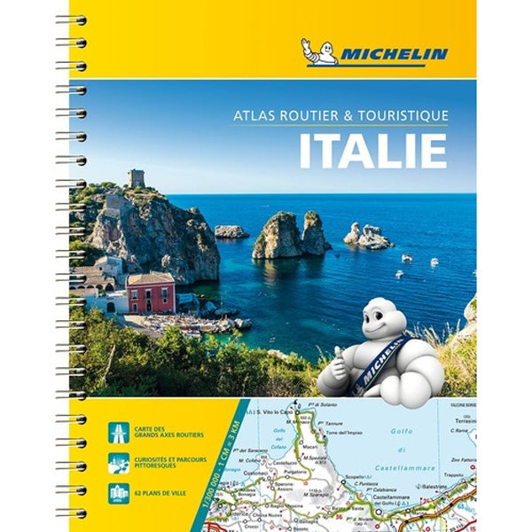 Atlas routier Italie 2019