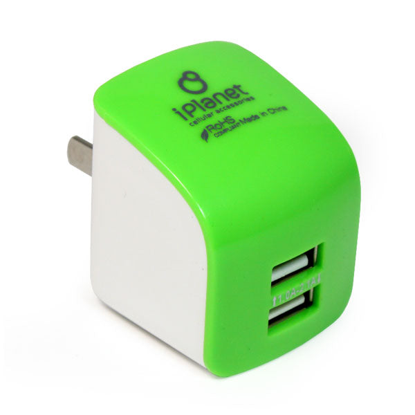 Chargeur USB mural double