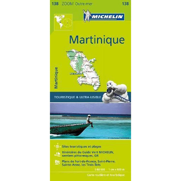 Carte de la Martinique