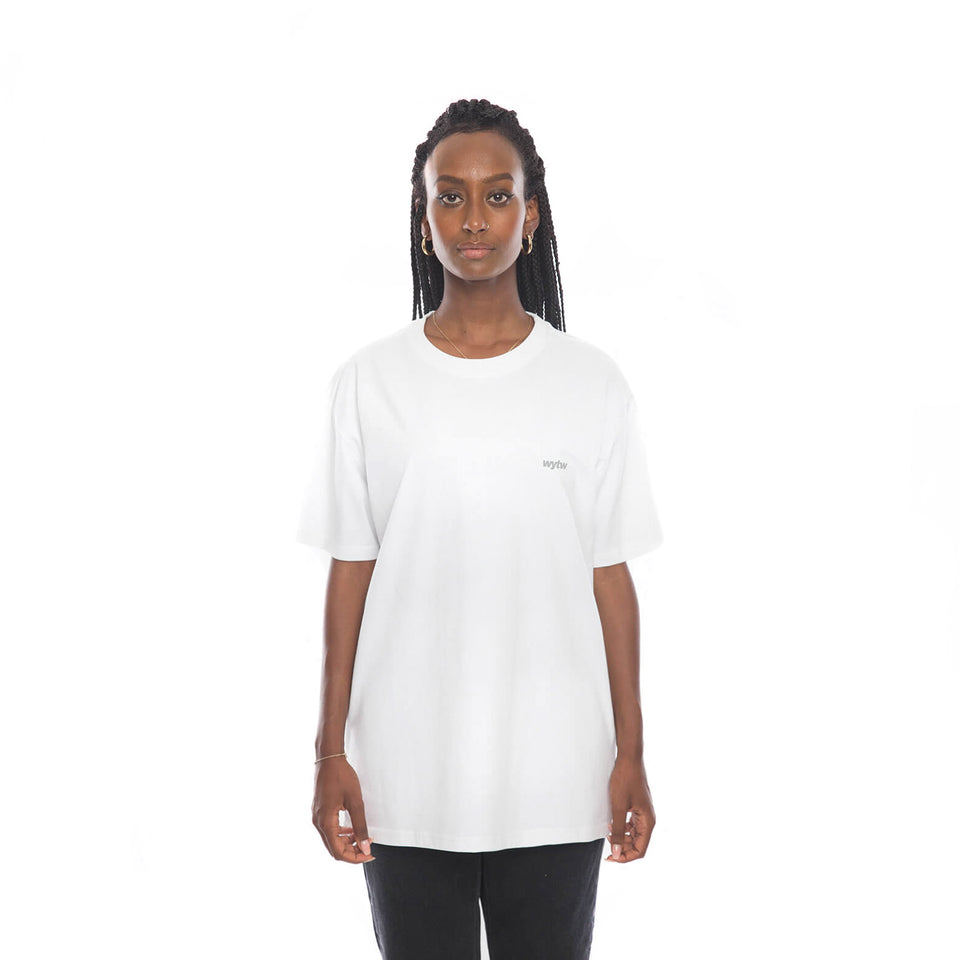T-Shirt Block Oversized – White