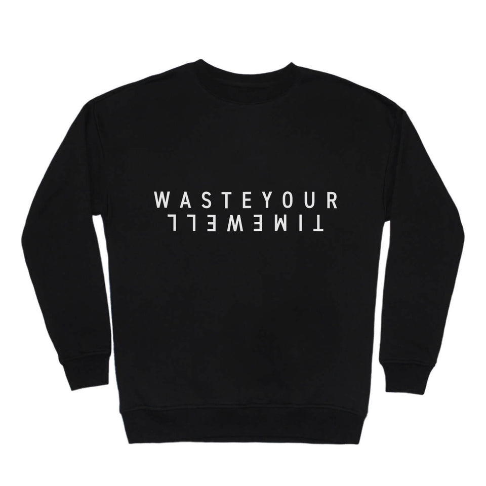 Sweatshirt Double - Black
