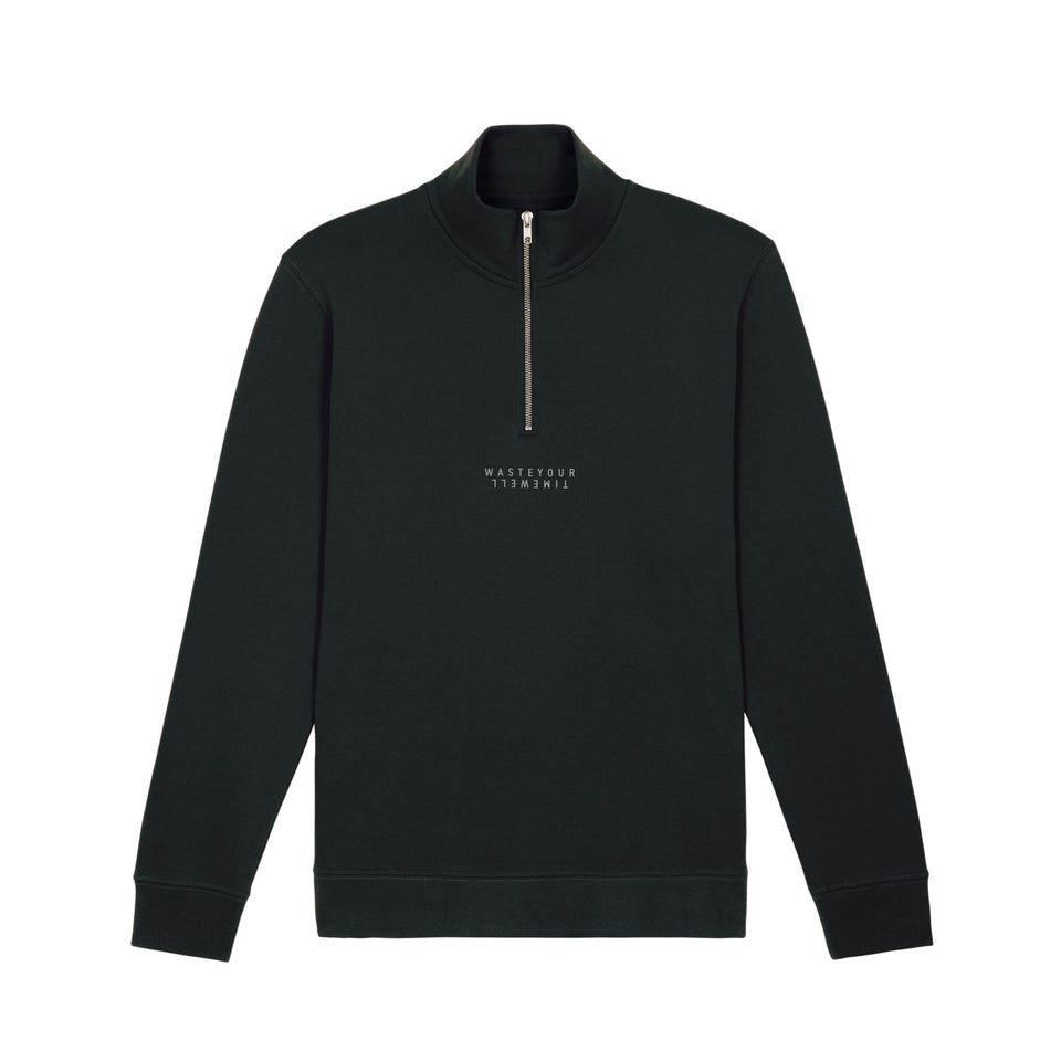 Halfzip Double – Black