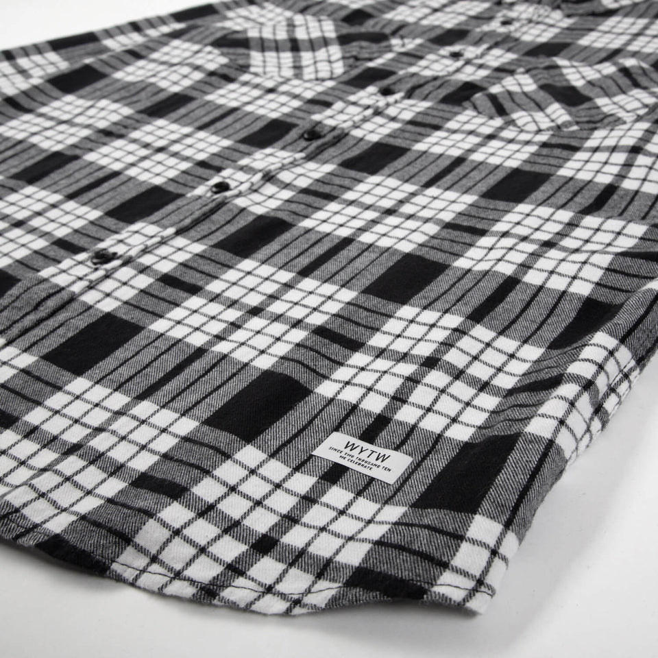 Hemd Checked Flanell – Black/White
