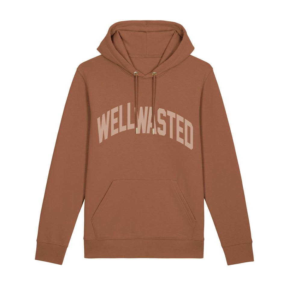 Hoodie Wasted Shift – Caramel