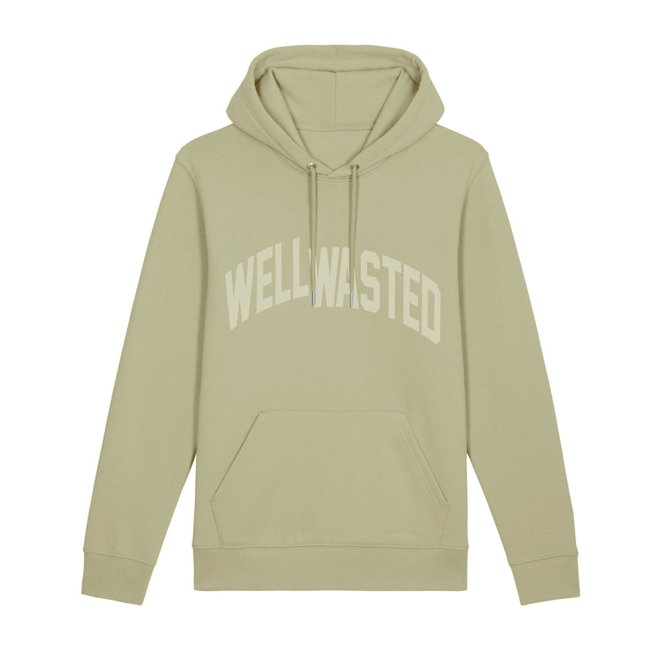 Hoodie Wasted Shift – Sage