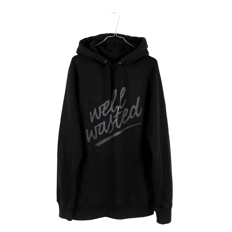 Hoodie Well Wasted WR – Black