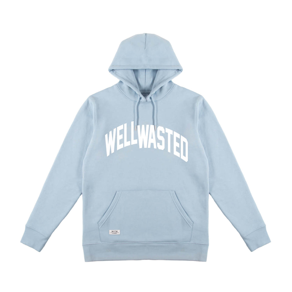 Hoodie Wasted Shift – Babyblue