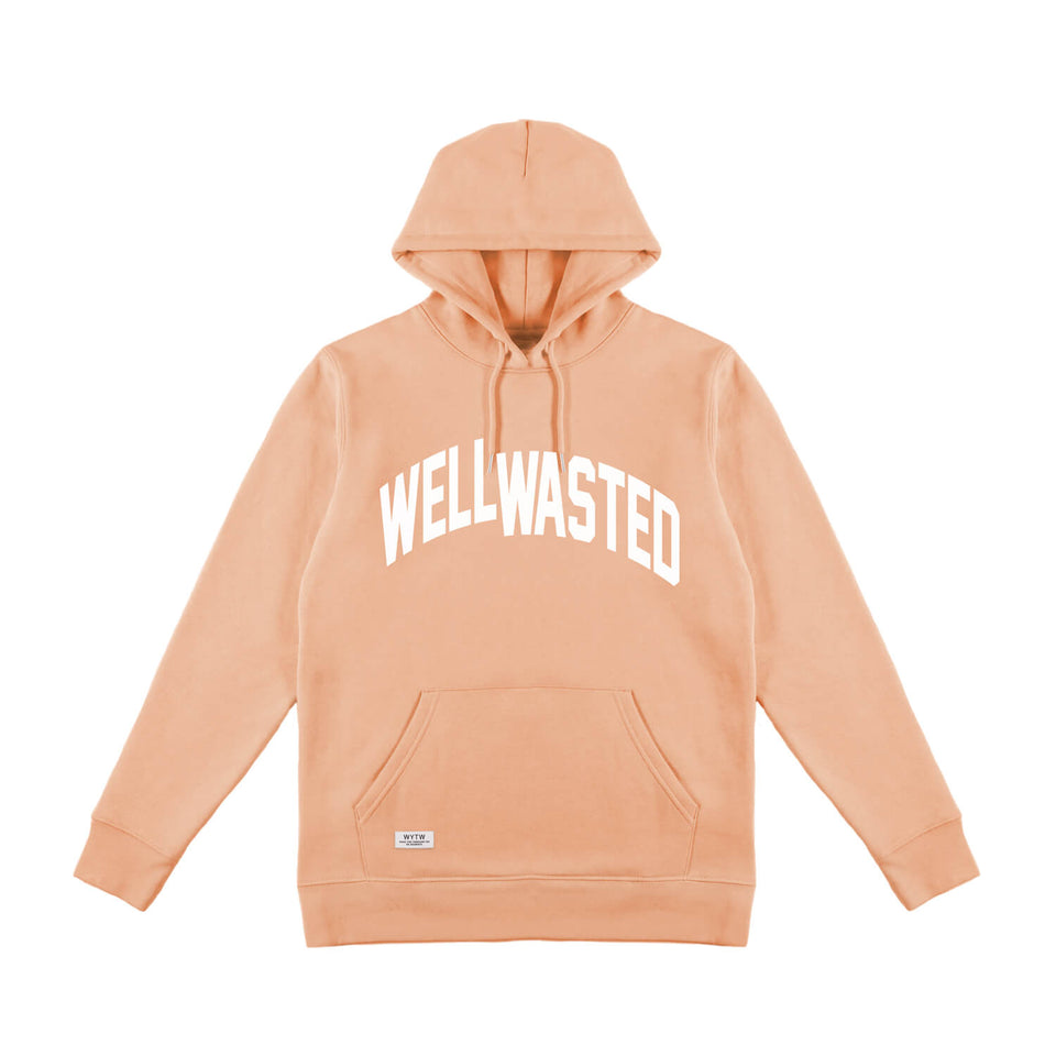 Hoodie Wasted Shift – Peach