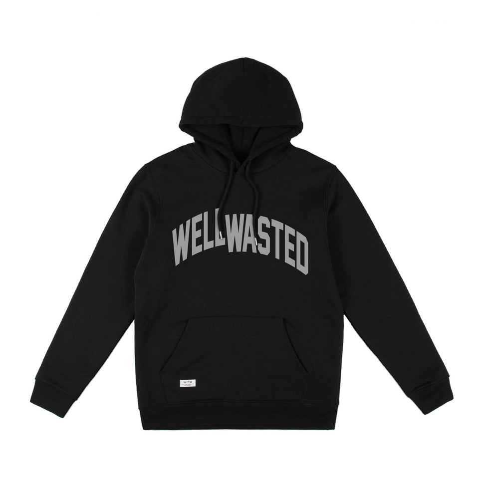 Hoodie Wasted Shift – Black
