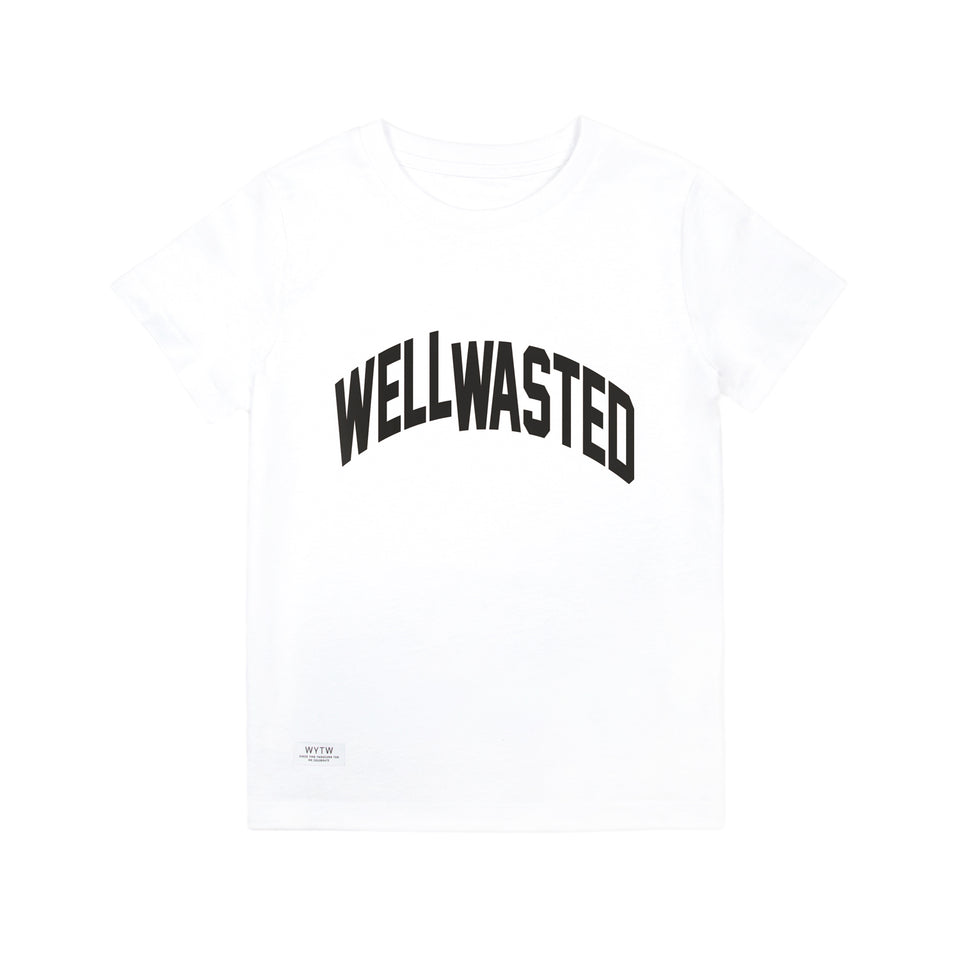 Kids T-Shirt Wasted Shift – White