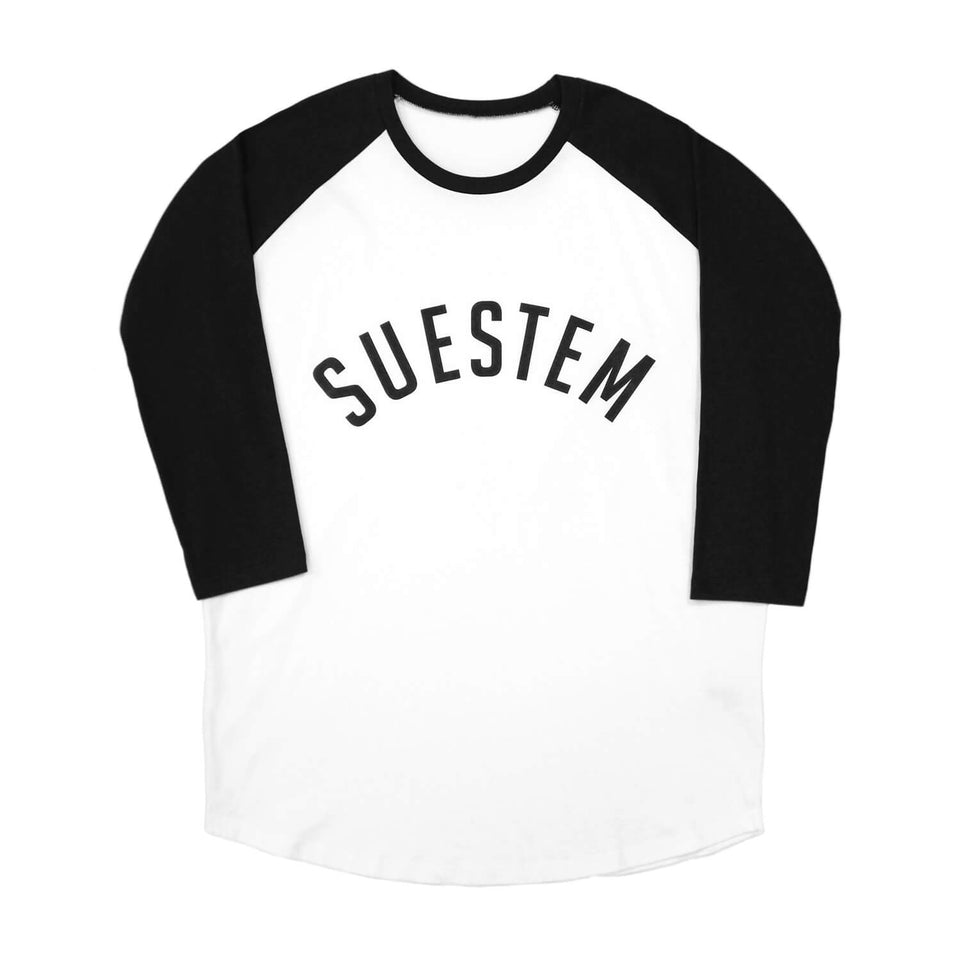 Longsleeve Suestem – White and Black
