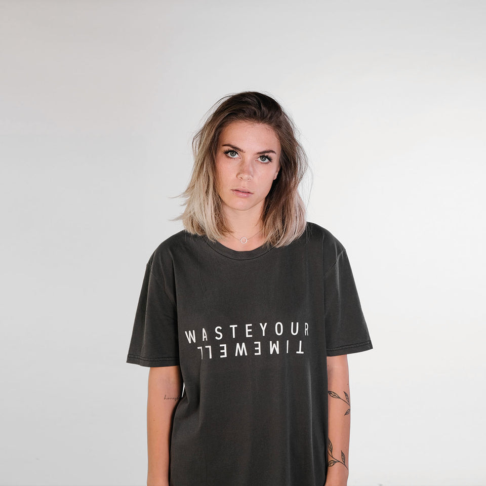 T-Shirt Double – Vintage Grey