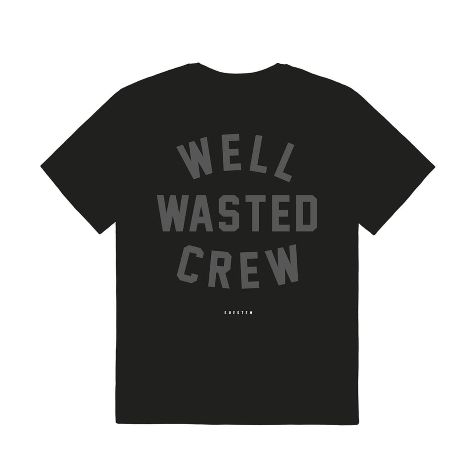 T-Shirt Wasted Crew – Black
