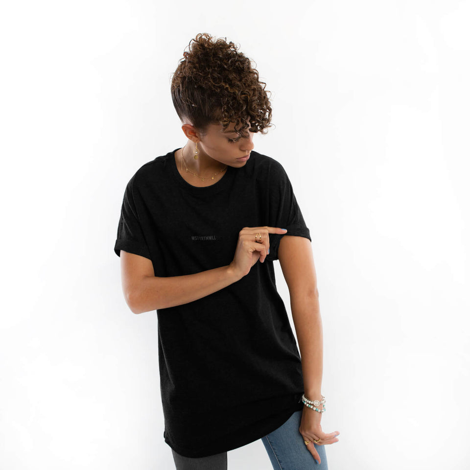 T-Shirt Shortcut – Black