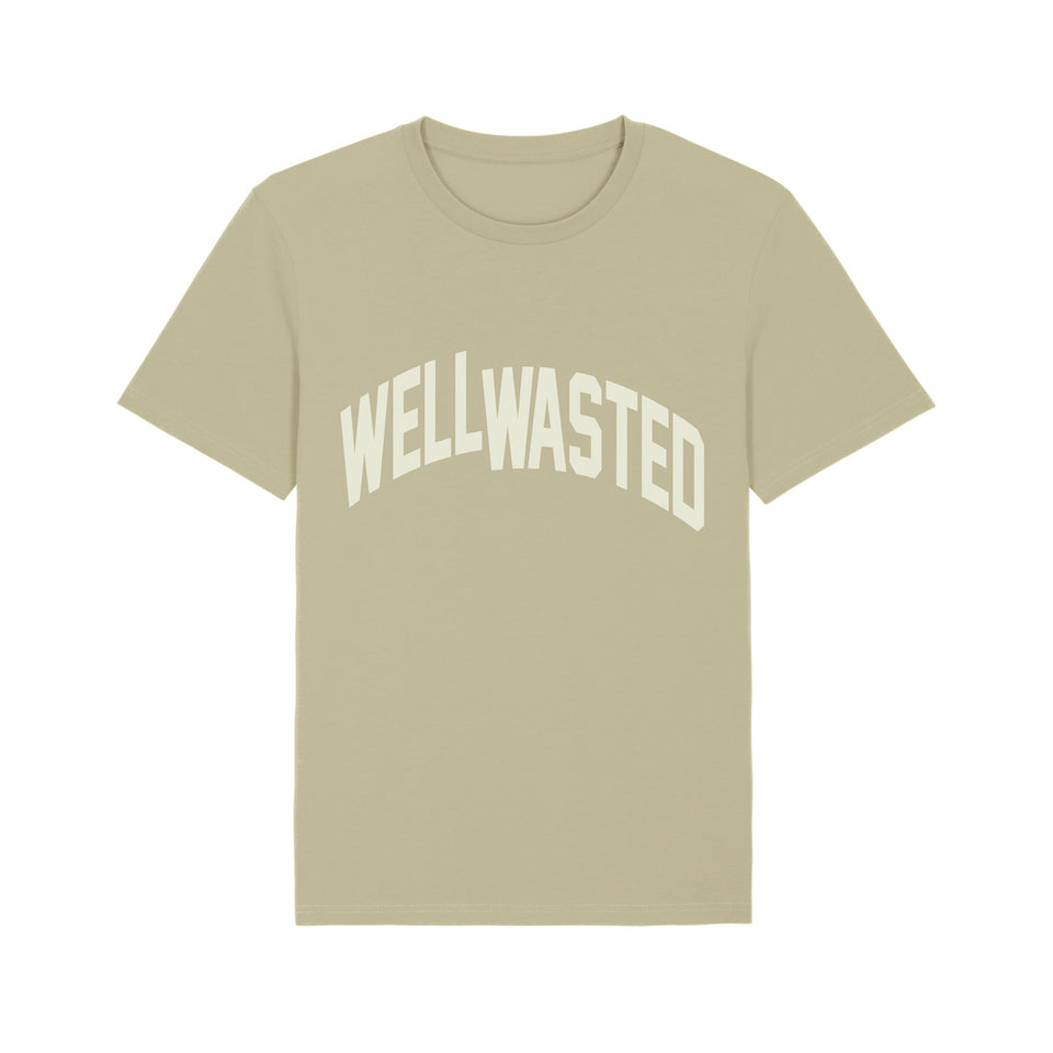T-Shirt Wasted Shift – Sage