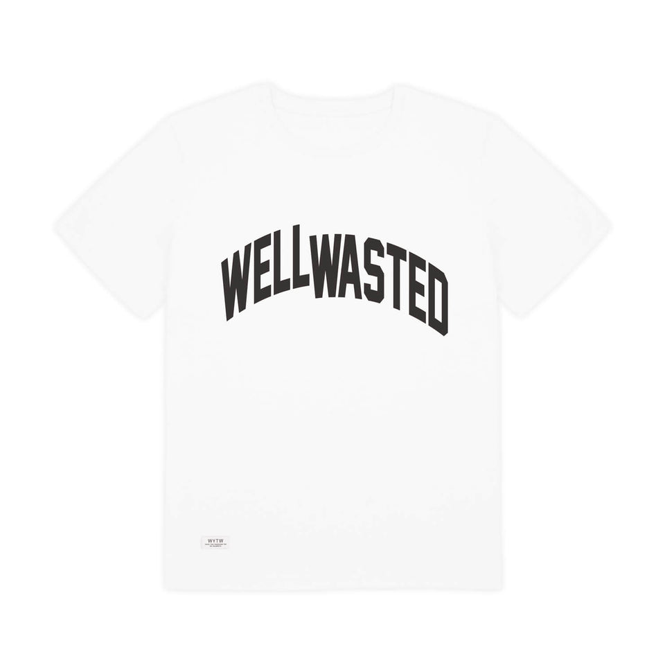 T-Shirt Wasted Shift – White