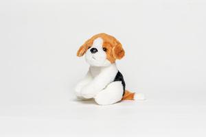 Lil' Sitting Dog Stuffed Animal