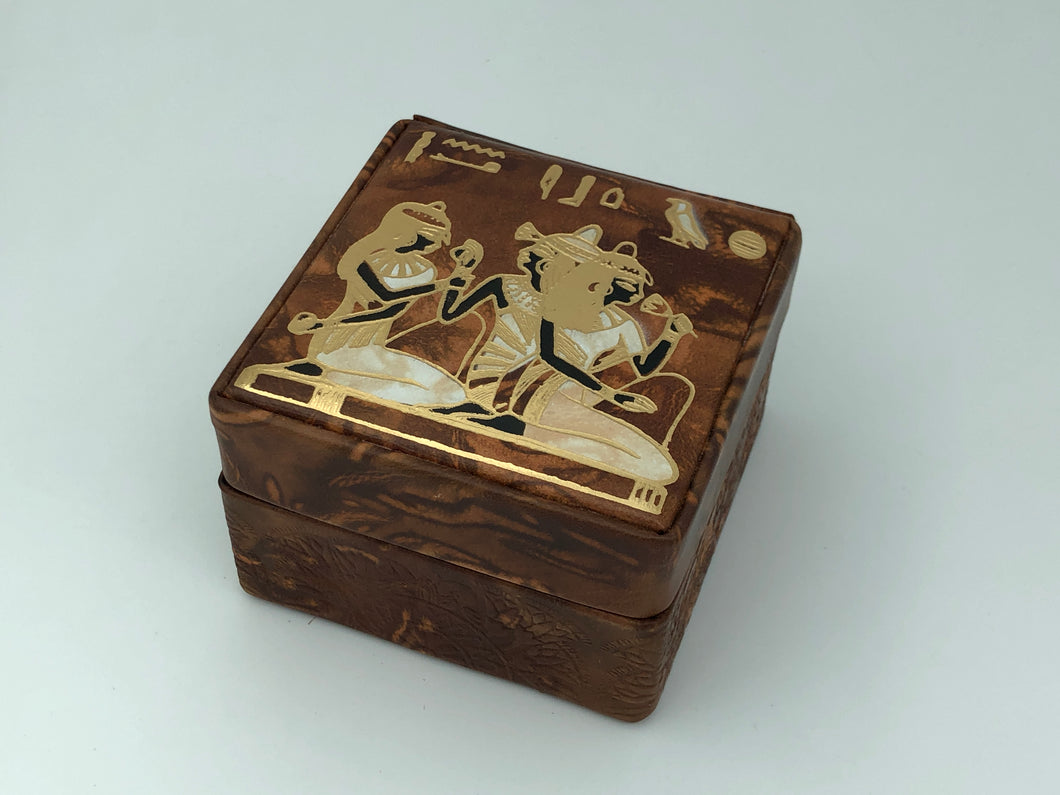 Ancient Egyptian Themed Jewelry Box