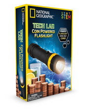 Load image into Gallery viewer, Tech Lab: Coin Powered Flashlight
