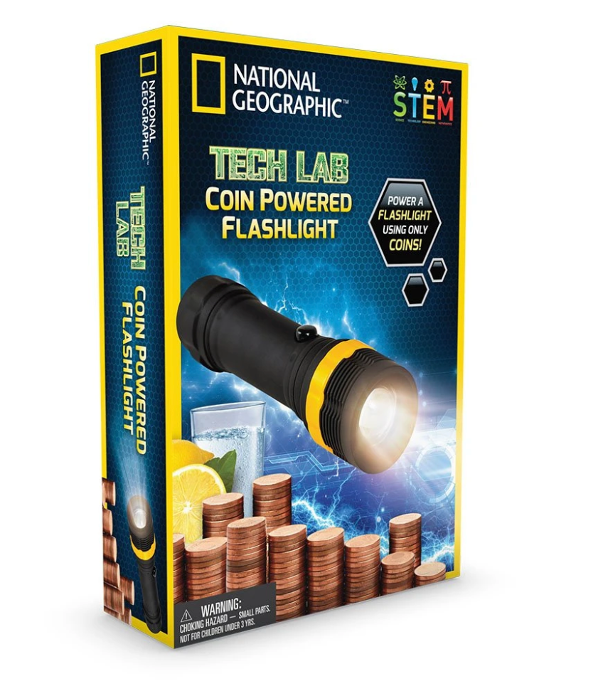 Tech Lab: Coin Powered Flashlight