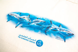 Shark printed Shopping Bag