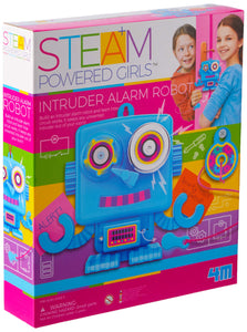 Girl Steam Intruder Alarm Robot