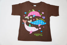 Load image into Gallery viewer, Plaid Dolphins Toddler T-shirt