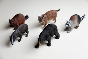 Polybag of Wilderness Figurines - North American Collection