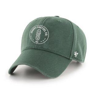 Dark Green Shappy Pretzel Dad Hat