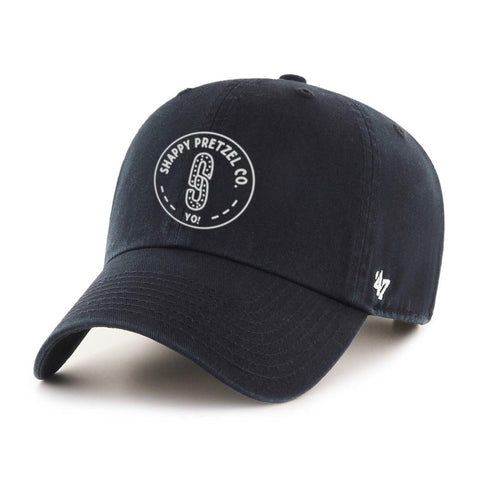 Midnight Black Shappy Pretzel '47 Dad Hat
