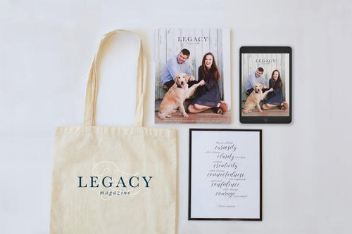 Legacy Magazine Collaboration - Charliemadison Originals LLC