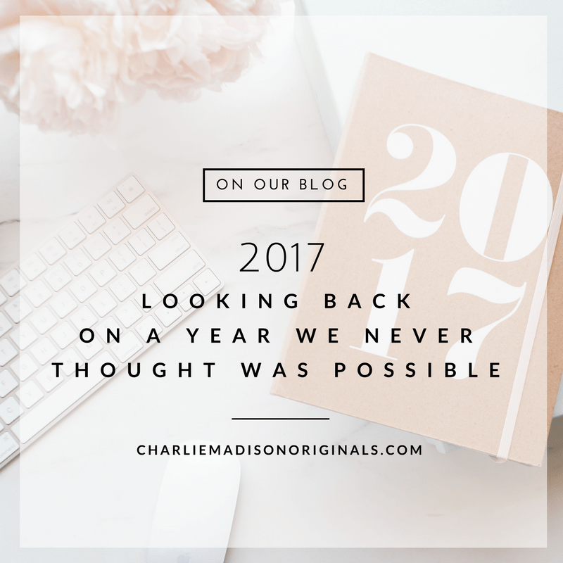 2017 | Looking Back on a Year We Never Thought Was Possible