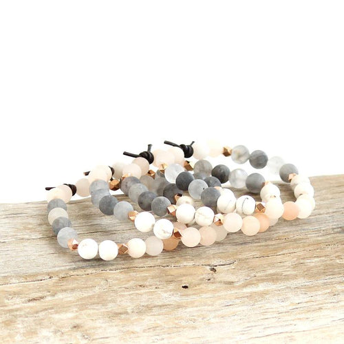 Be Present Bracelet in Blush