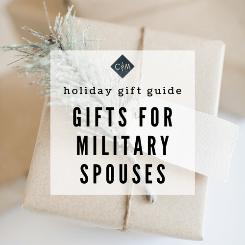 Holiday Gift Guide | Gifts for Military Spouses